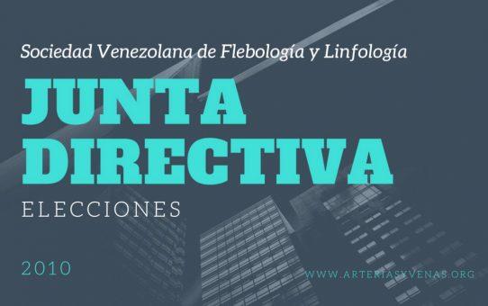 Elección de junta directiva de la Sociedad Venezolana de Flebología y Linfología 2010