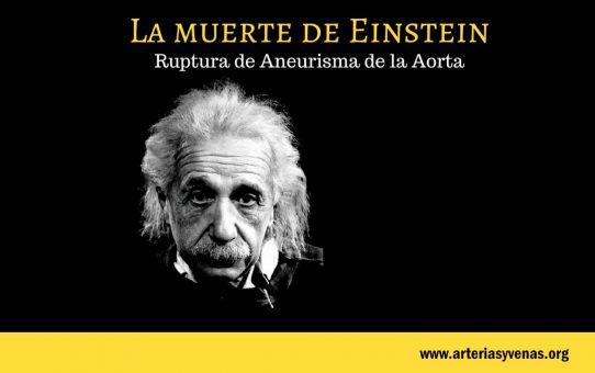 La muerte de Einstein