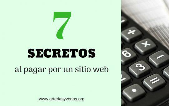 7 secretos que debes conocer antes de pagar por un sitio web