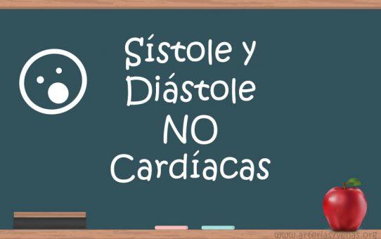 Sístole y diástole no cardíacas