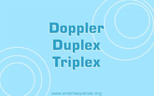 Ultrasonido Doppler, dúplex o triplex