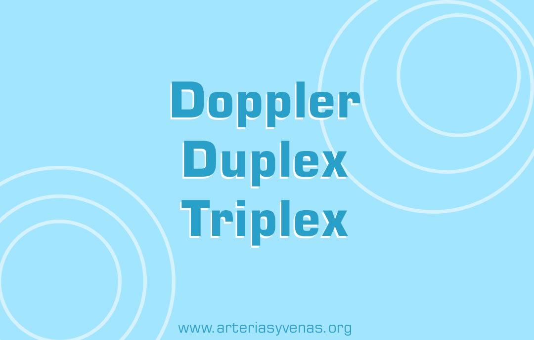 eco Doppler, duplex o triplex