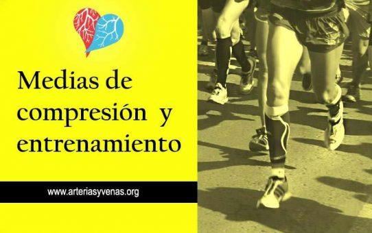 Medias de compresión para el deporte y entrenamiento