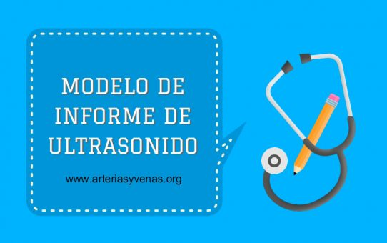 Modelo para informe de ultrasonido Doppler vascular