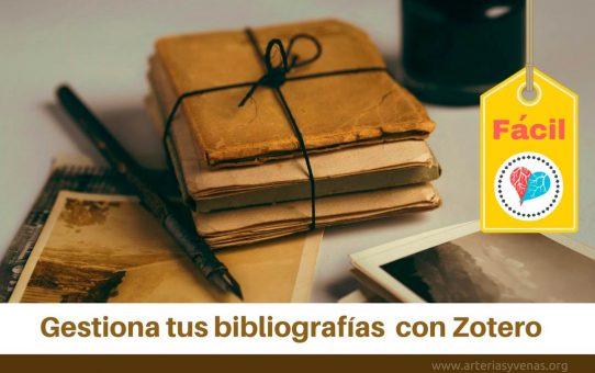 Haz tu bibliografía fácil con Zotero
