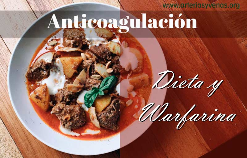 Dieta y Anticoagulación
