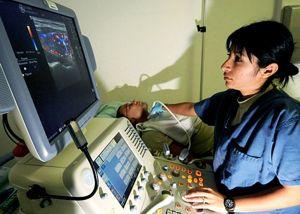 Operador de ultrasonido