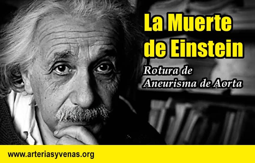 Muerte de Einstein