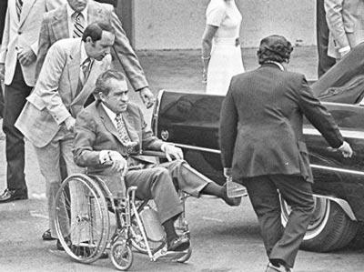 Nixon convaleciente