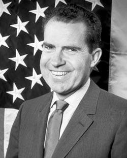 Richard Nixon, trombosis del viajero