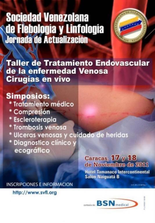 Jornadas de Flebología y Linfología