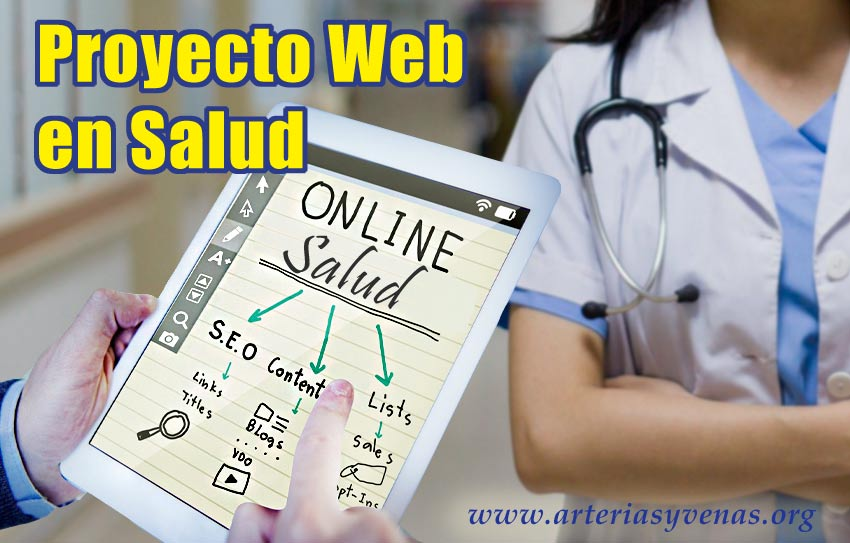 Proyecto web de una Sociedad Científica del Sector Salud